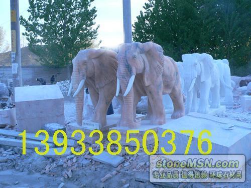 大象石雕,漢白玉雕塑,名人雕塑