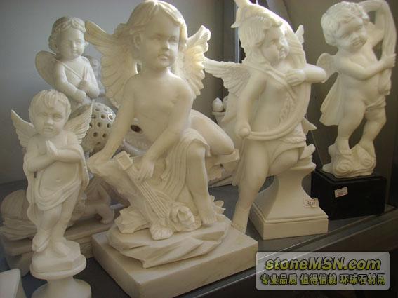 小天使雕塑,漢白玉天使雕塑,西方雕塑