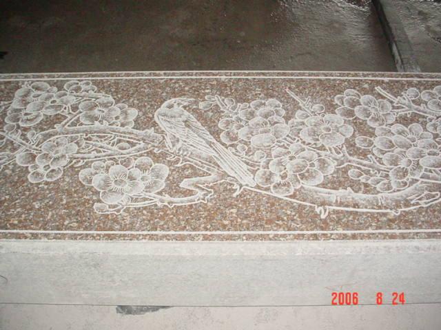 雕刻石壁6