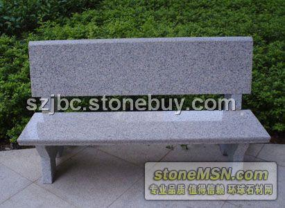 花岗岩石椅