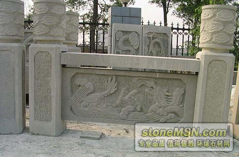 石材雕刻--石材欄桿