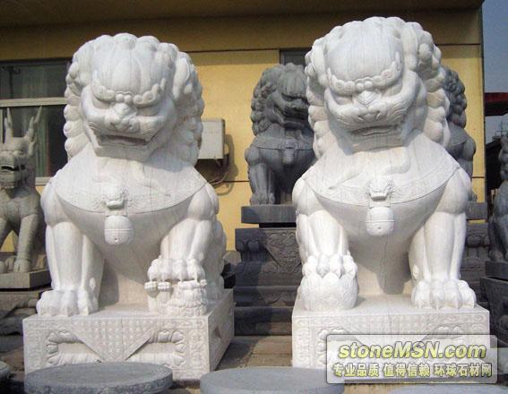 石材雕刻--石獅子