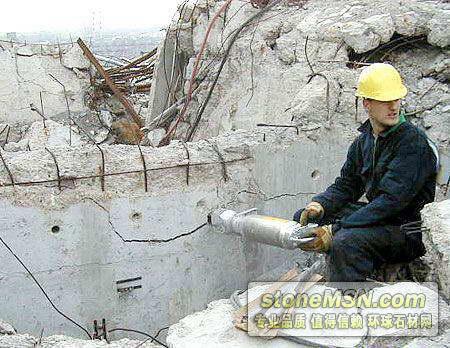 钢筋混凝土拆除设备