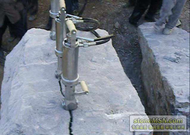 石材开采设备、岩石分解设备、荒料开采设备
