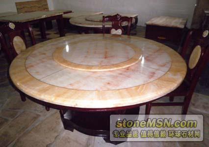 低价销售松香黄圆桌面
