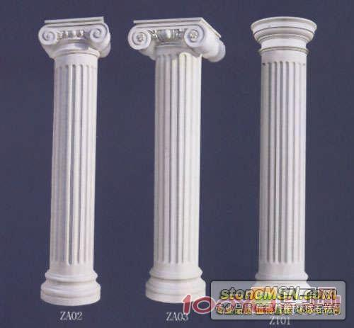GRC欧式罗马柱,GRC窗套、门套,GRC构件