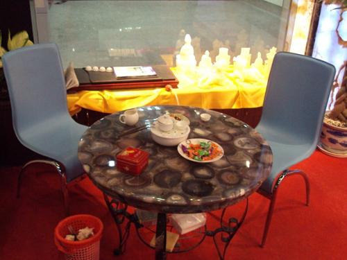 玛瑙玉咖啡桌