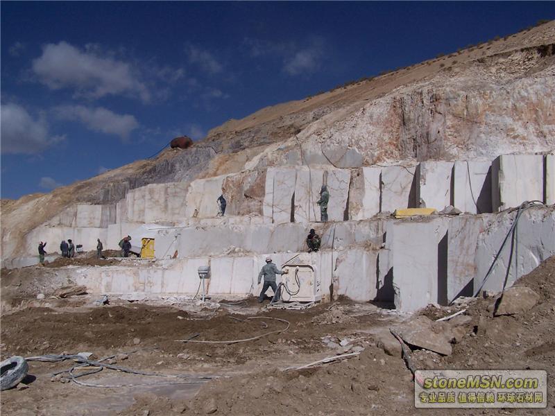 大理石矿山