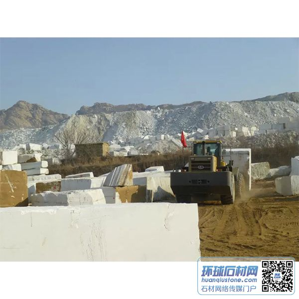 大量雪花白供应,雪花白矿山,白色大理石荒料