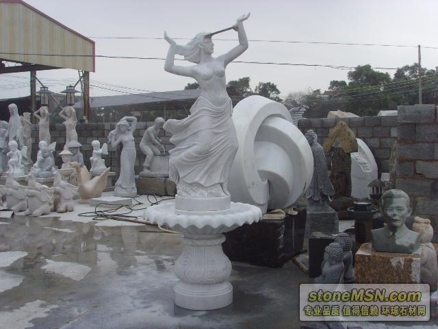 供應西方漢白玉人物石雕