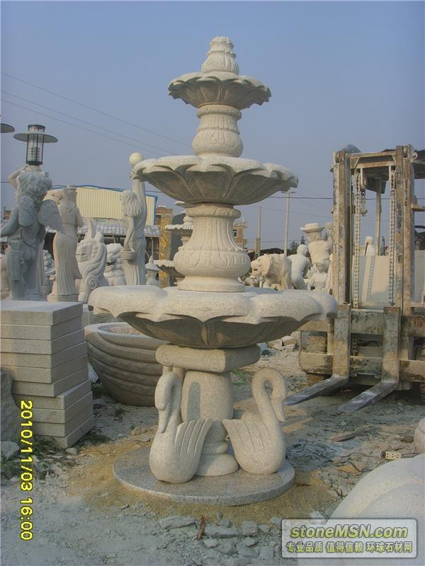 供应石雕花盆  喷泉
