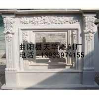 曲阳壁炉雕塑