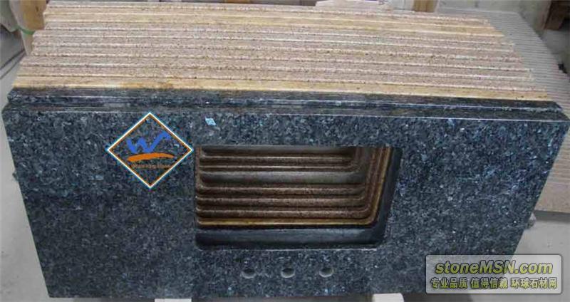 蓝珍珠浴室台面板