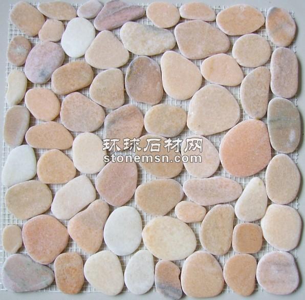 鵝卵石切片網貼,卵石馬賽克-3