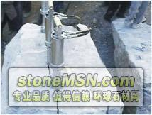 代替人工打钎大块岩石二次分解设备