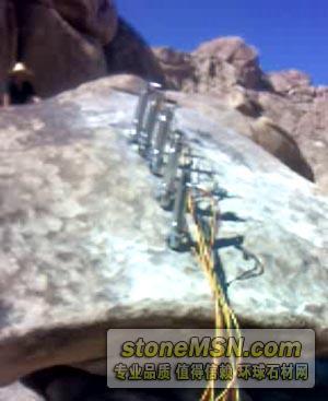免爆破开采玉石设备