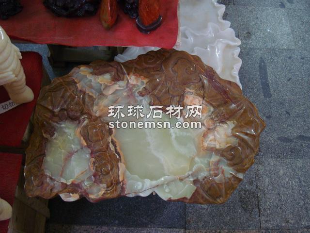 藝術茶盤==五福臨門