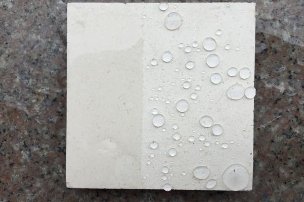 石材防护效果